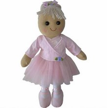 Large Ballerina Rag Doll